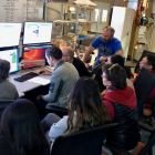 During the two-week X-Ray Methods in Structural Biology Course at Cold Spring Harbor, Gabe worked alongside Ph.D. students, post-docs, and faculty members from around the world to train in techniques for macromolecular crystallography.