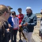 Mahajan Lab enjoys tide pooling during their Point Lobos Nature Preserve hike on May 12th, 2018